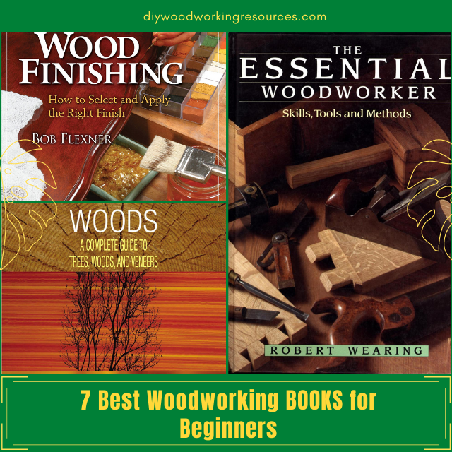 7 Best Woodworking BOOKS for Beginners